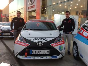 Javier Bouza y TRS Racing Team inician la temporada 2016