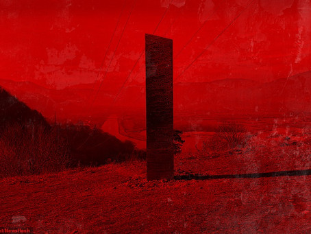 Mysterious Monolith In Romania