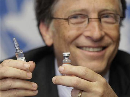 Bill Gates Wants To Vaccinate The Whole World.