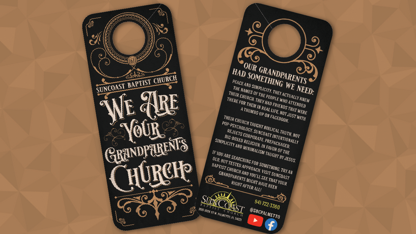 We ARE Your Grandparents Church