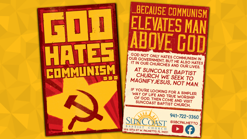 God Hates Communism...