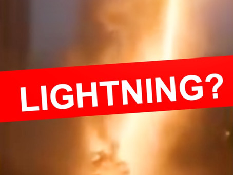 Lightning or Directed Energy Weapon? Something Powerful Destroyed Shanghai High Rise.
