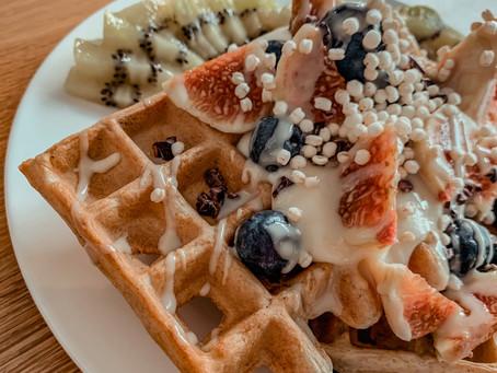 Healthy Belgian Waffles