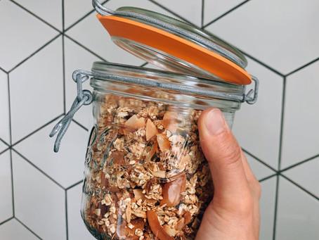 Ma recette de Granola Crunchy-Coco