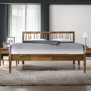 Kula Queen Bed with Wooden Slats