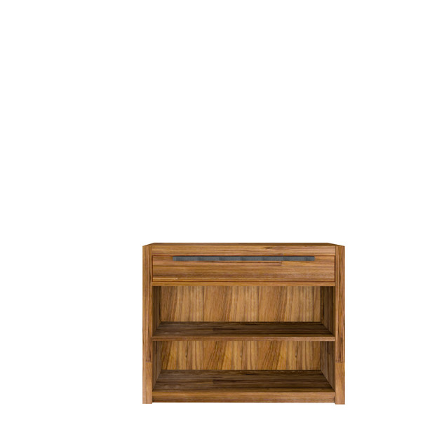 Low Bookcase 1 Drawer 1 Shelves