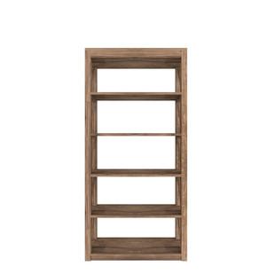 Tall Bookcase 5 Open Shelves