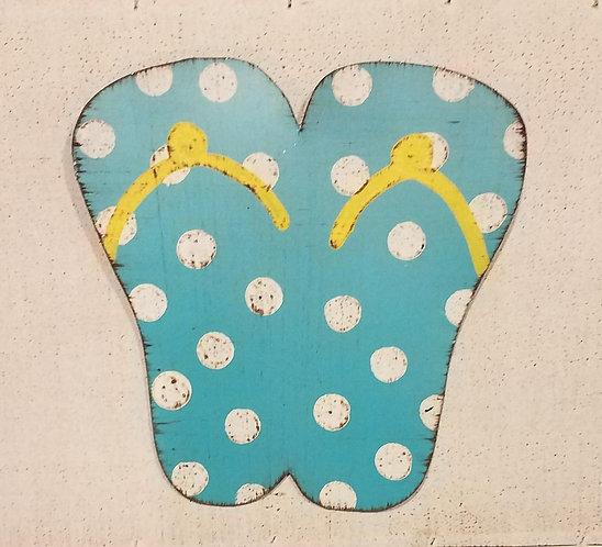 Turquoise Flip Flop