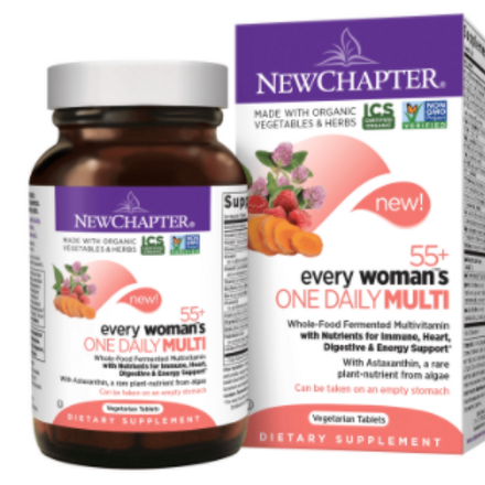 New Chapter Every Woman's 55+ One Daily Multivitamin