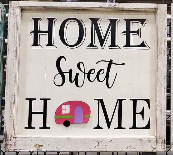 Home Sweet Home Window