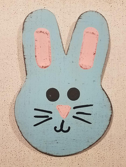 Easter Bunny Blue