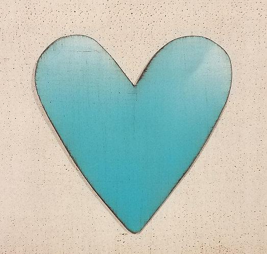 Heart Turquoise