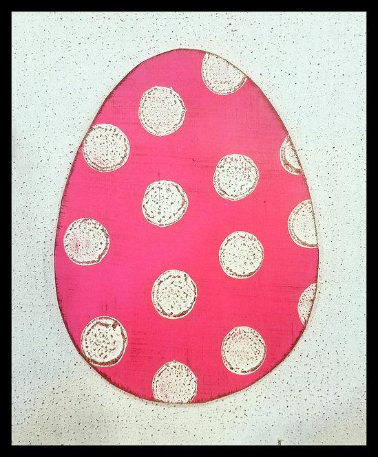 Easter Egg Hot Pink
