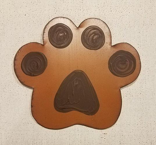Dog Paw Brown