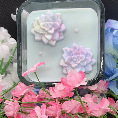 10 oz. Square Glass Candle
