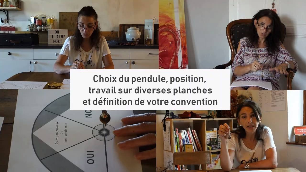 Formation à distance - Initiation au pendule