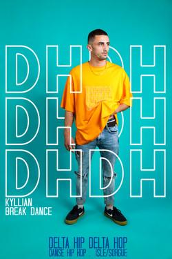 Kyllian break dance dhdh isle sur la sorgue