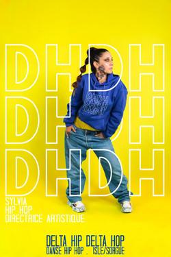 Sylvia Mahieu directrice artistique delta hip delta hop vaucluse isle sur la sorgue danse