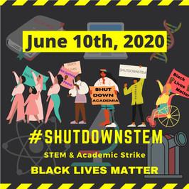 Take-home points from #ShutDownSTEM