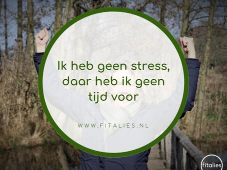 Wat gebeurt er in je lijf bij stress?