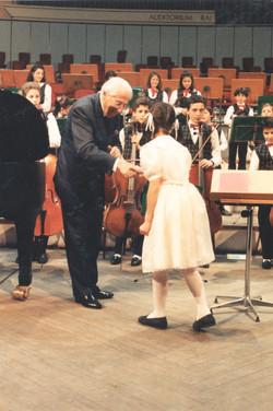 Con Ferdinand Leitner, 1992