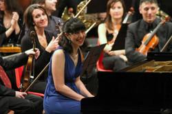 Con l'Orchestra Sinfonica del Piemonte