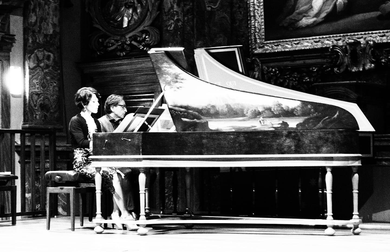 Tastiere - Bianco su nero - Chiara Massi