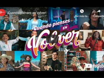 """Ezio Oliva y 7 artistas más se reúnen en campaña """"Cuando pienses en volver"""" para fomentar el turismo"""