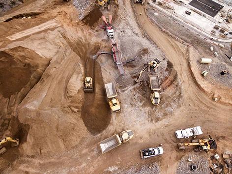 Строительная площадка для грязи