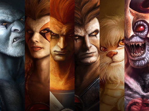 Thunder Cats Collection