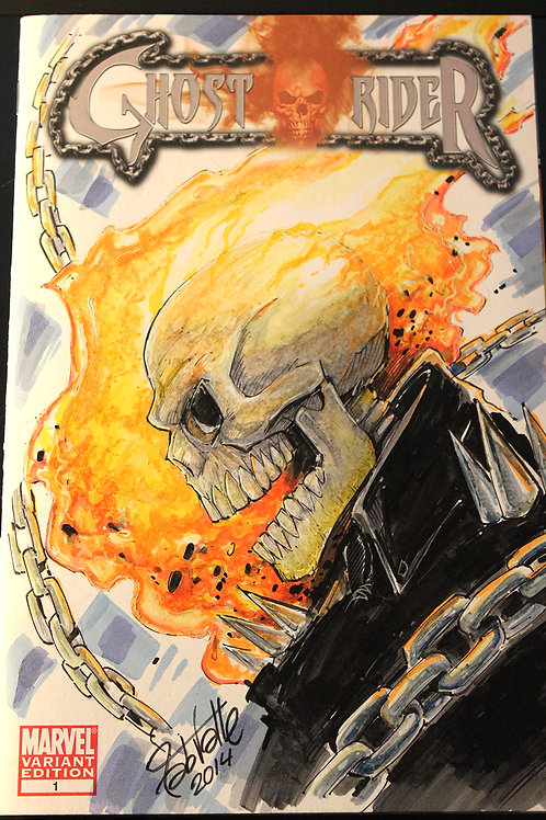 Original Art - Ghost Rider