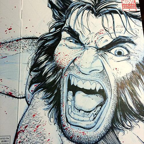 X-Men Sketch Cover (SOLD!)