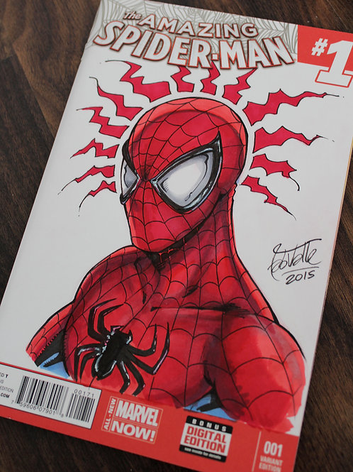 Spider-Man Blank Cover