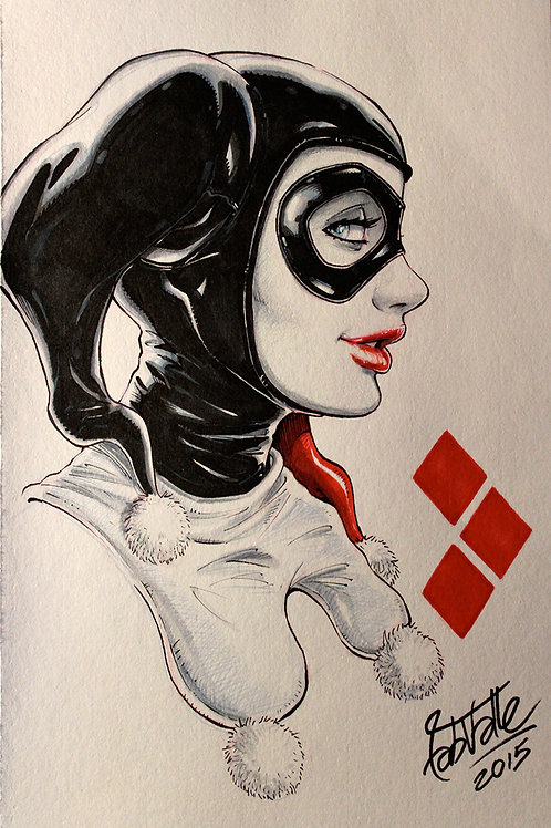 Original Art - Harley Quinn