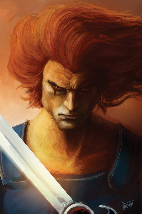 Print Lion-O - 11x17in