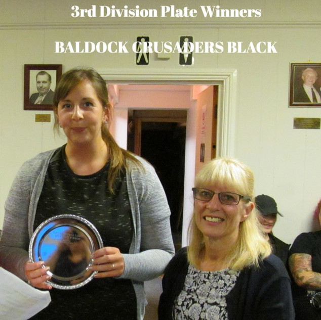 3rd Division Plate Winners