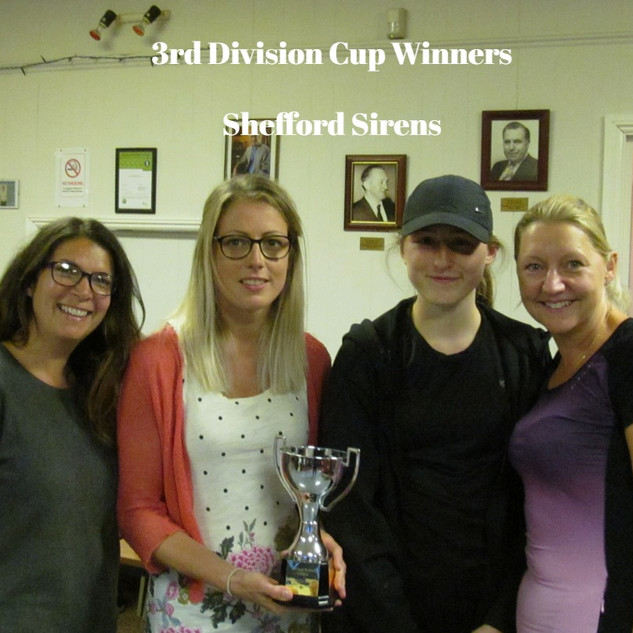 3rd Division Cup Winners