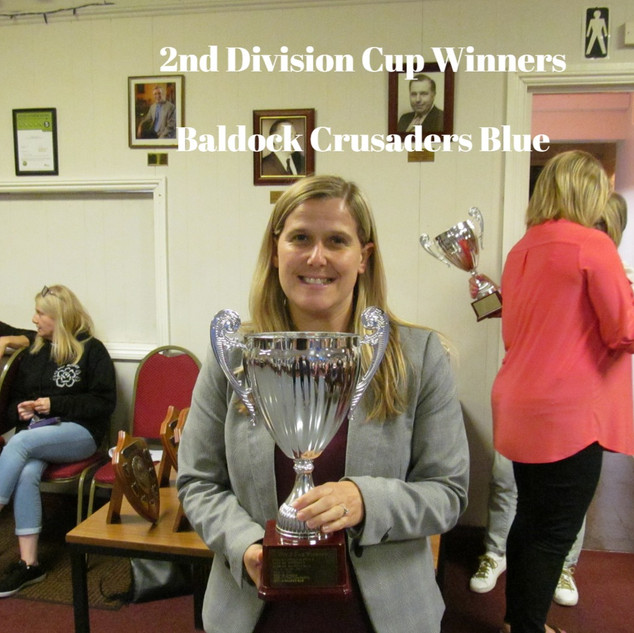 2ND DIVISION CUP WINNERS