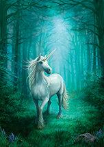 "AN34 ""Forest Unicorne"" Card"