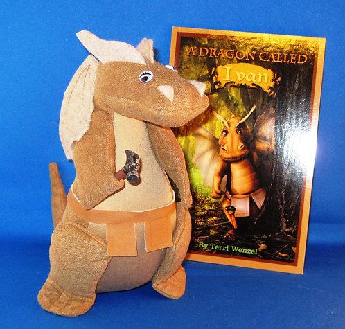 """Ivan 7"""" Dragon/Book Set"""