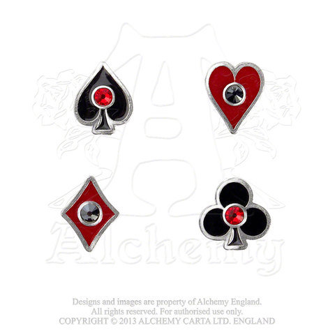 Alchemy of England ULFE21 Aces Up earrings