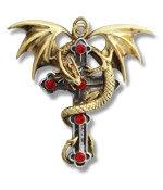 CA2 Crux Dragana Pendant w/chain