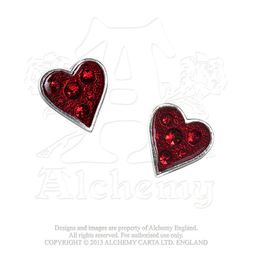 Alchemy of England E332 Hearts Blood earrings