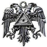 KT6 Byzantine Eagle=Power & Success Pendant w/chain