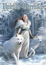 "AN48 ""Winter Guardians"" Yule Card"