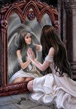 """AN37 """"Magical Mirror""""  Card"""