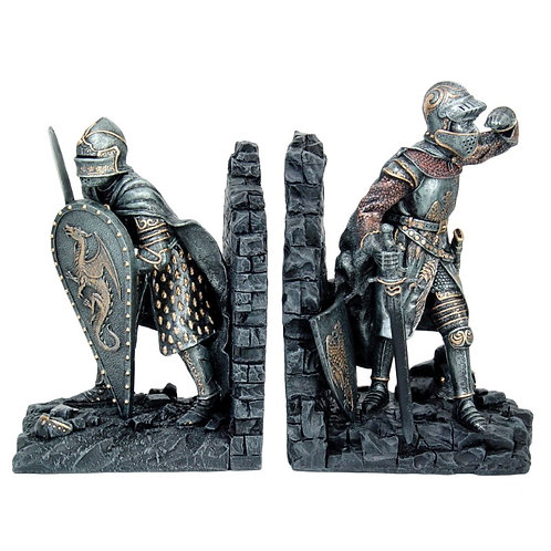 12146 Knight Bookends