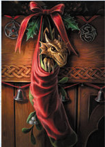 "AN14 ""Magical Arrival"" Yule Card"