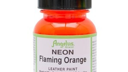 Angelus Flaming Orange Neon Paint