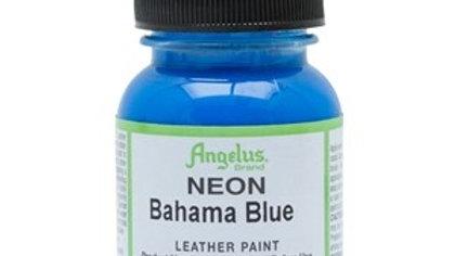 Angelus Bahama Blue Neon Paint